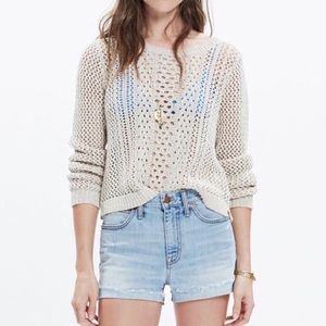 Madewell | 'Summer Stitch' Cotton Knit Pullover